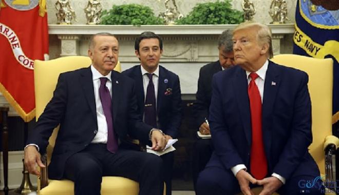 Erdoğan ile ABD Başkanı Trump'ın görüşmesi sona erdi