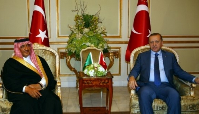 Erdoğan, Suudi Arabistan Programına Başladı