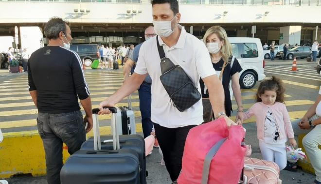 Erol Bulut, Ailesi ile İstanbul'a geldi (video)