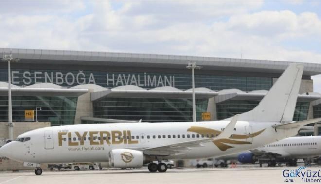 Esenboğa Havalimanı dış hatlarda zayıf kaldı