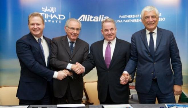 Etihad ve Alitalia'dan 1,758 milyar Euro Yatırım