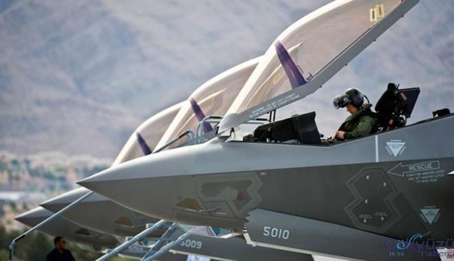 F-35 ekipmanlarının sevkıyatı durduruldu!