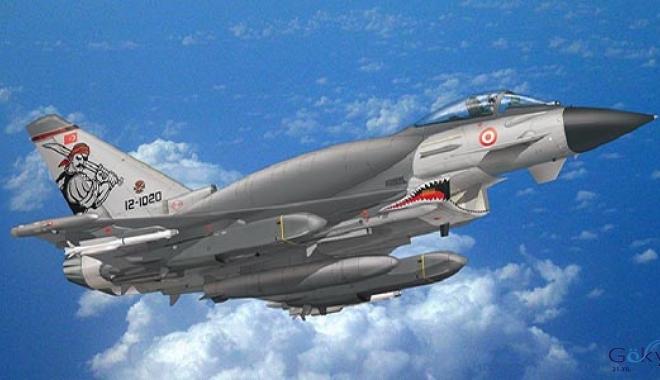 F-4, F-16 ve KC-135R Destekleme uçuşu gerçekleştirildi(video)