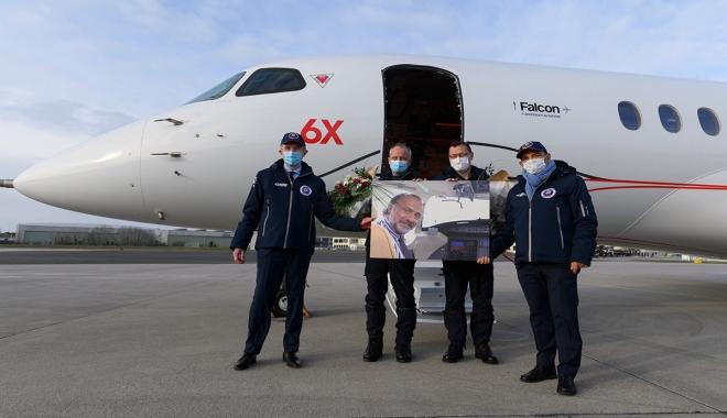 Falcon 6X İlk Uçuşunu Tamamladı(video)