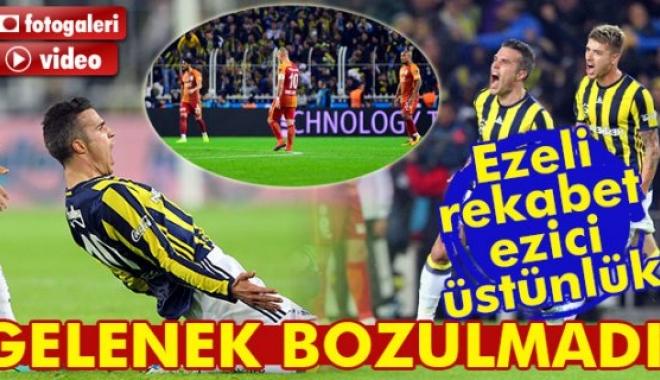 Fenerbahçe Galatasaray Maçı Geniş Özeti Ve Golleri