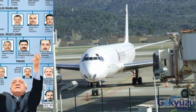 FETÖ'cüler Ülkeye Yabancı Pasaportla Girip Çıkmış