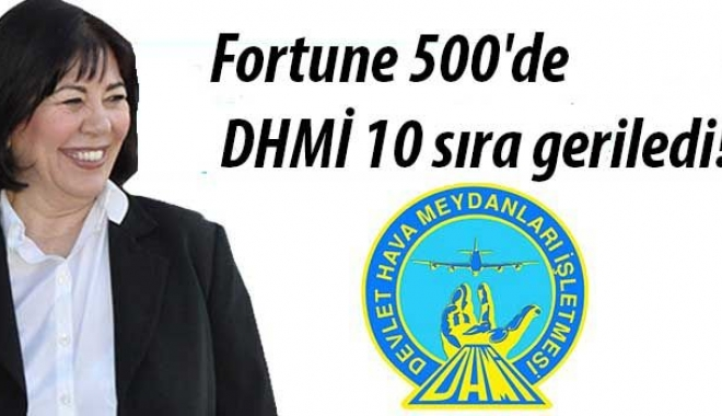 Fortune 500'de DHMİ 10 sıra geriledi!