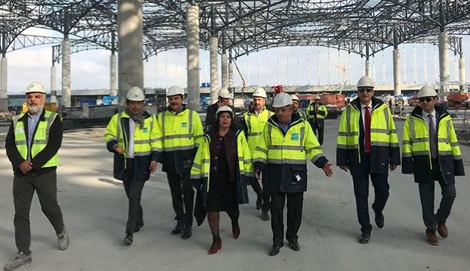 Funda Ocak: 3.Havalimanı İnşaatının %71'i Tamamlandı