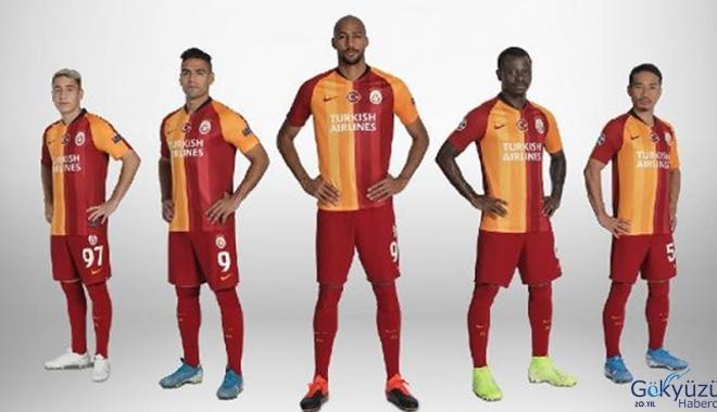 Galatasaray'ın Avrupa'daki forma sponsoru THY