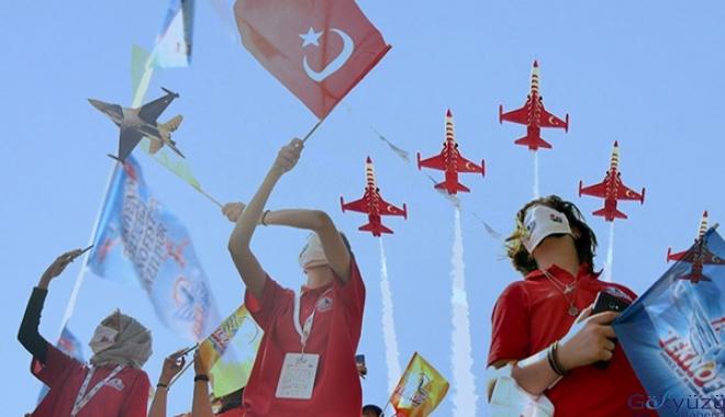 Gaziantep'te, TEKNOFEST rüzgarı(video)