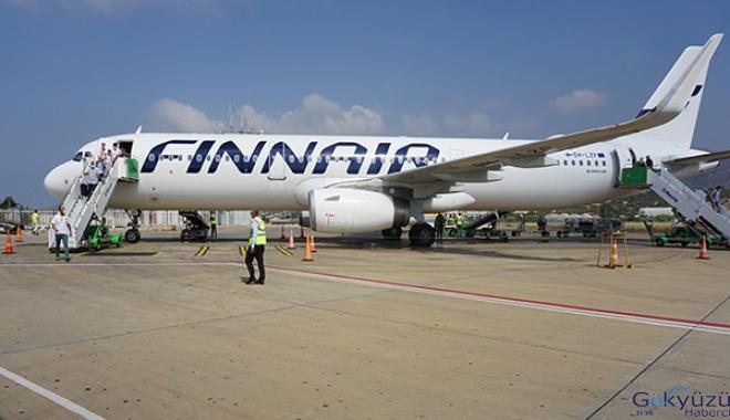 Gazipaşa-Alanya'da dış hat uçuşları başladı