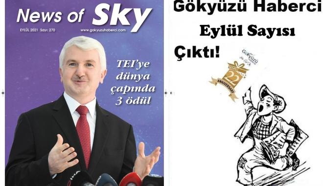 #Gökyüzü Haberci Eylül Sayısı Çıktı!