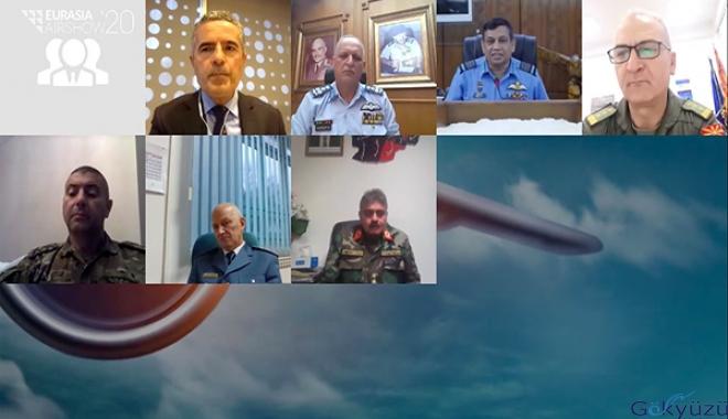 Hava Kuvvetleri Komutanları Eurasia AirShow'da