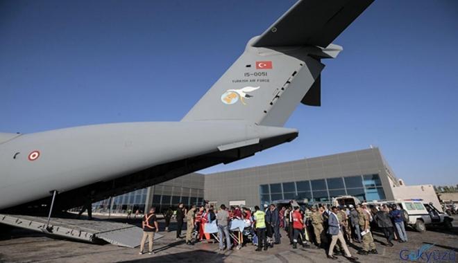 Hava Kuvvetleri uçağı Mogadişu'dan ayrıldı!