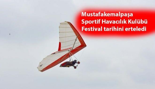 Havacılık Festivali Ertelendi