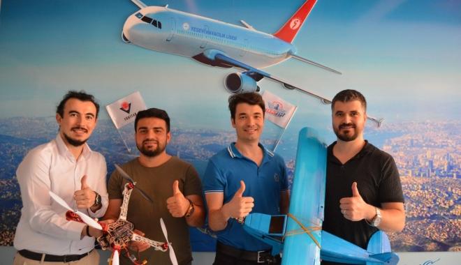 Havacılık öğrencilerinden