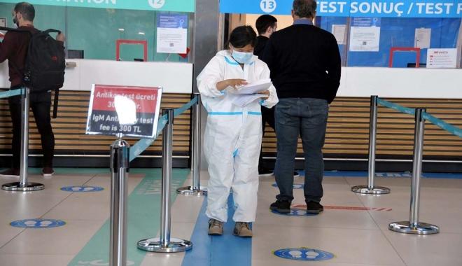 Havalimanı'nda 4 bin 875 test pozitif çıktı