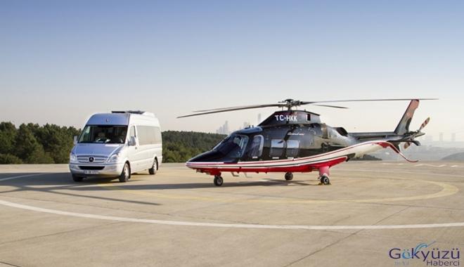 Havalimanları helikopterle 15 dakika!