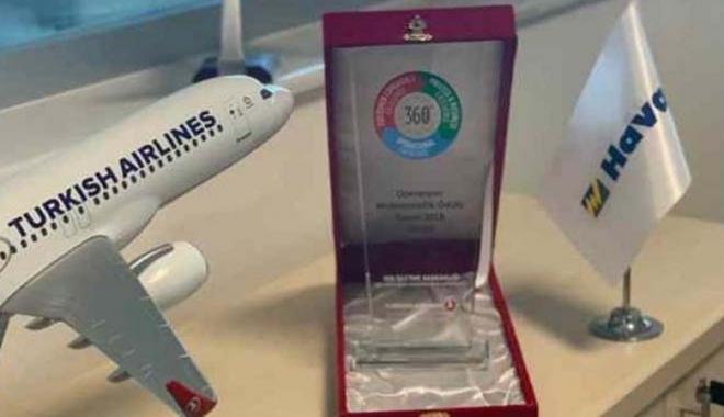 Havaş Sinop'a THY'den Mükemmellik Ödülü!