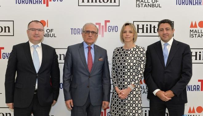 Hilton Mall of İstanbul, 2020'de misafirlerini ağırlayacak