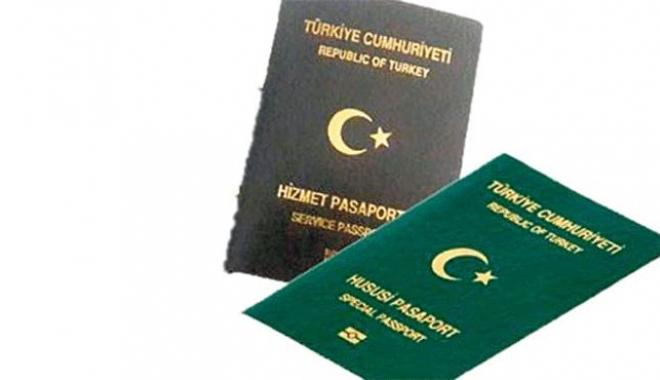 Hizmet ve Yeşil Pasaport Onay Yazısı Kaldırıldı!