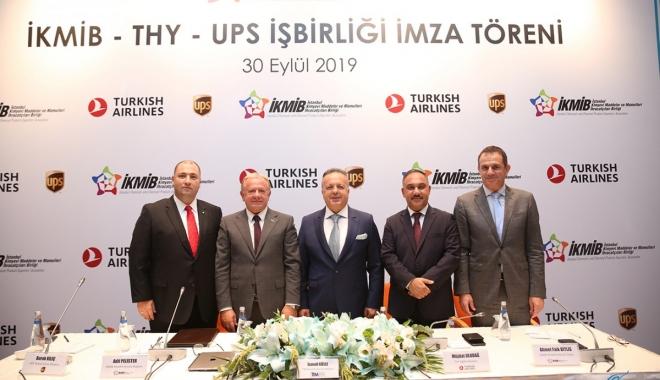 İKMİB, UPS Ve THY İş Birliği Protokolü İmzaladı