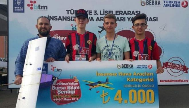 İnsansız hava aracı yarışmasında Eskişehir başarısı