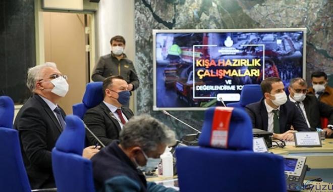 İstanbul'da kış hazırlıkları...