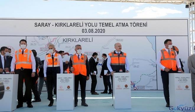 İstanbul-Edirne 1saat 20 dakikaya düşecek(video)