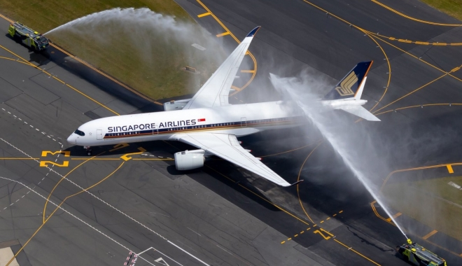 İstanbul Havalimanı A350'yi karşılayacak!