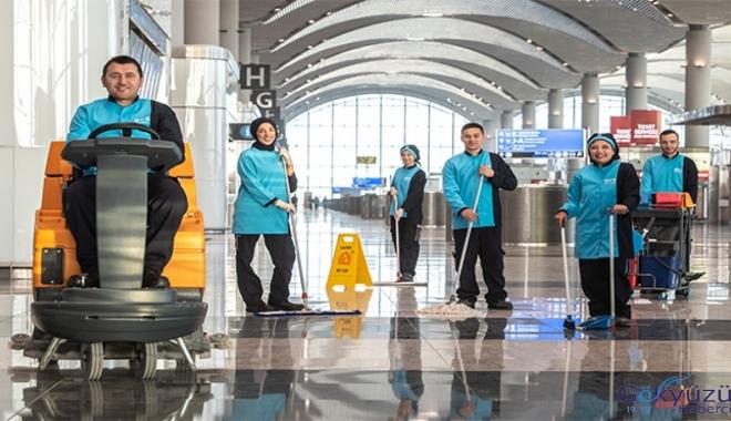 İstanbul Havalimanı'nda 1209 kişi daha işbaşı yaptı!