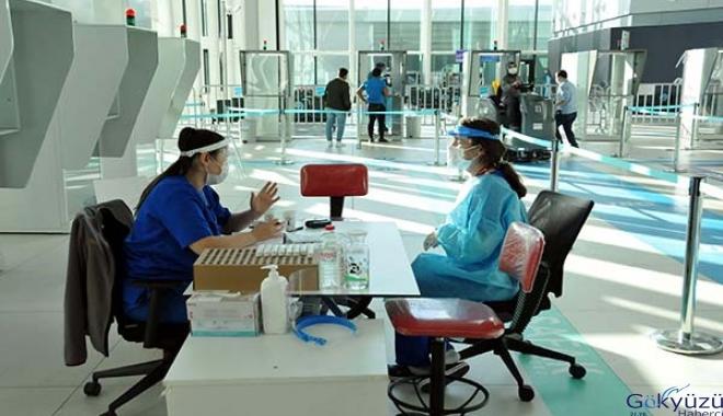 İstanbul Havalimanı'nda 141 bin yolcu test yaptırdı