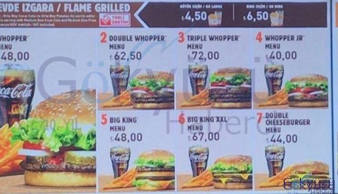 İstanbul Havalimanı'nda Burger King