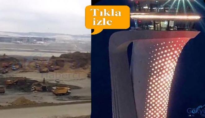 İstanbul Havalimanı'nda çökme oluyor iddiası!