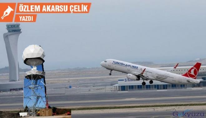 İstanbul Havalimanı'nda hava durumu radarı yok!