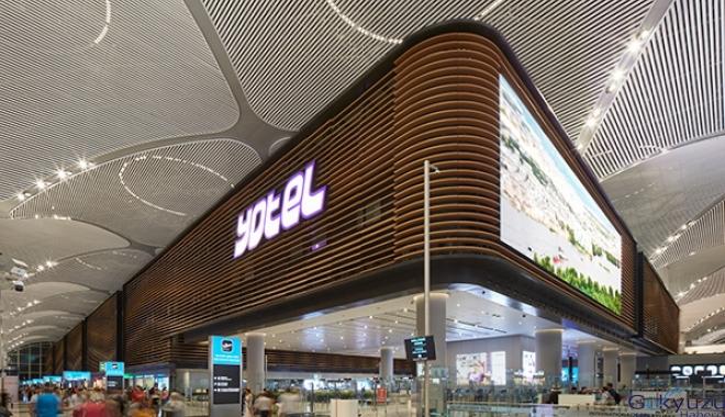 İstanbul Havalimanı'nda otel doluluk oranı yüzde 70'e çıktı