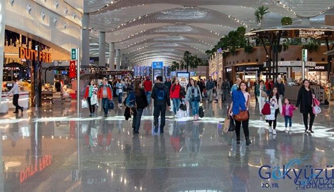 İstanbul Havalimanı'nda Türkler alışveriş lideri!