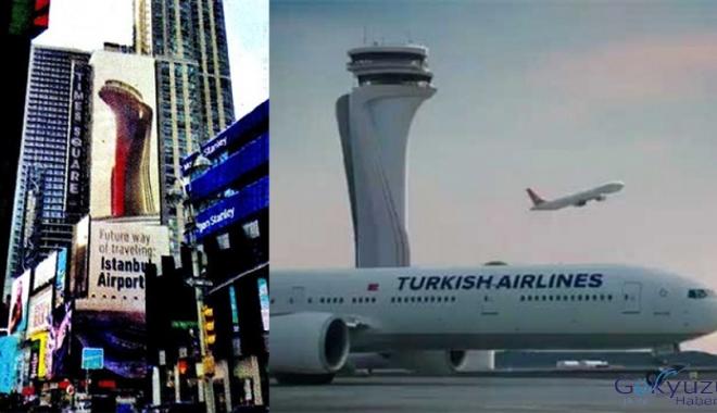 İstanbul Havalimanı Times Square'de