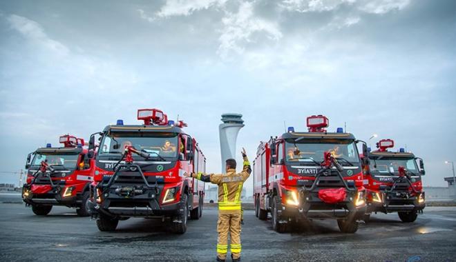 İstanbul Havalimanı Volvo Trucks'ı tercih etti