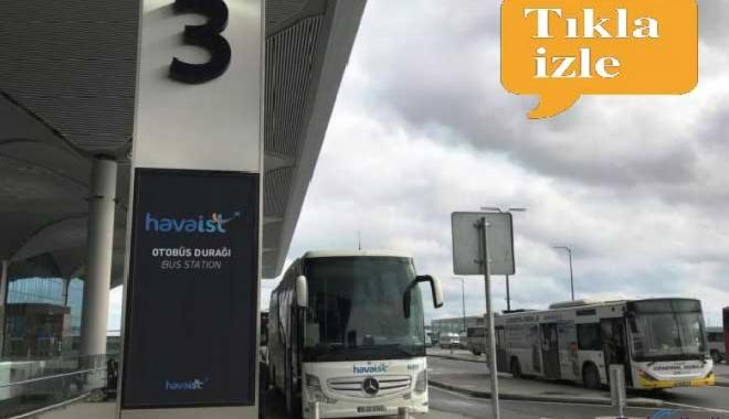 video İstanbul Havalimanı'na Ulaşım Yolu : HAVAİST
