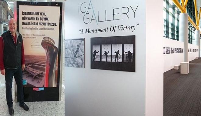 İstanbul Havalimanı'nda zafer anıtı sergi açıldı!