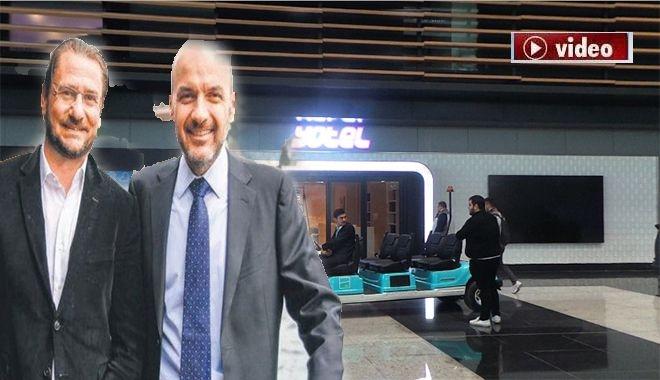 İstanbul Havalimanı'ndaki otelin son hali!video