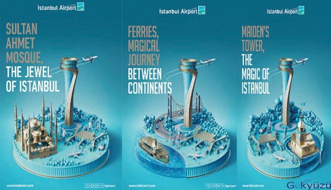 İstanbul Havalimanı'ndan Yenilikçi Görsel Tasarımlar