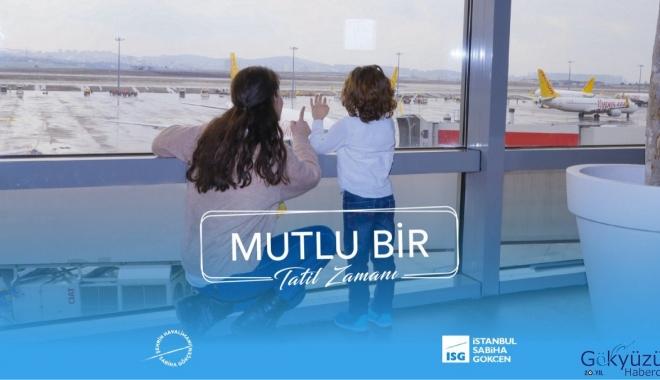 İstanbul Sabiha Gökçen yüksekten uçuyor!