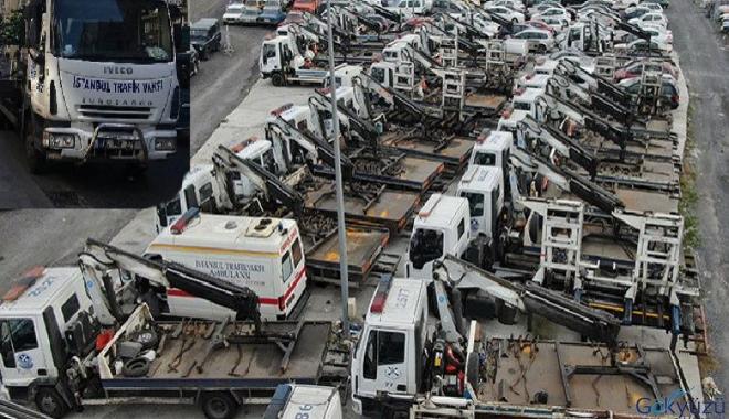 İstanbul trafik vakfı artık araç çekmeyecek!