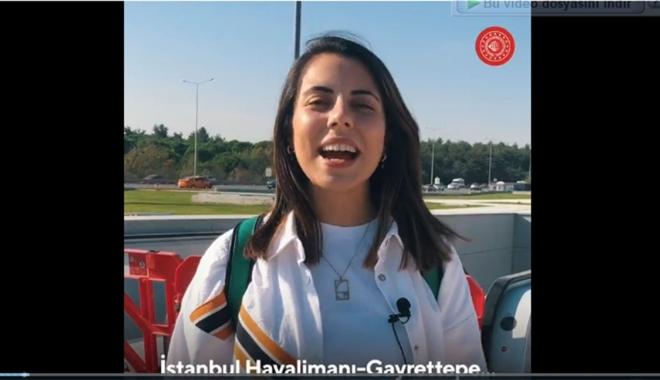 İstanbul'un raylı sistem ağını genişletiyoruz #video