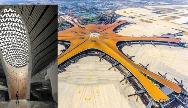 İşte dünyanın en büyük havalimanı!