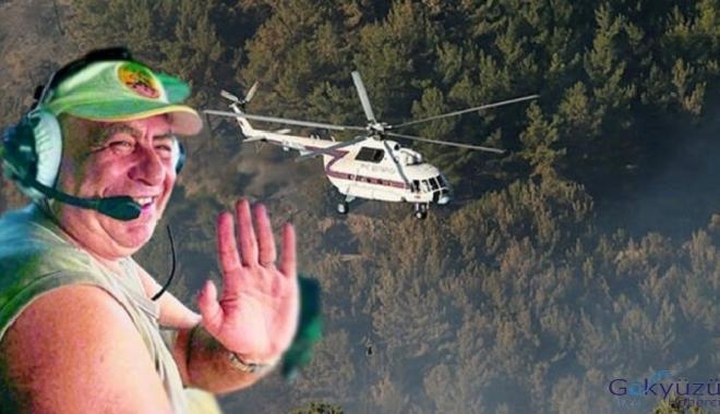 İzmir'deki yangına müdahale eden pilot ölü bulundu!