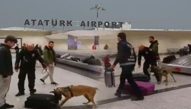 Çöp arabasındaki kaçak yolcuyu narkotik köpeği yakaladı!