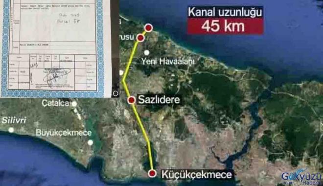 Kanal İstanbul projesine 40 kilometre satılık arazi!